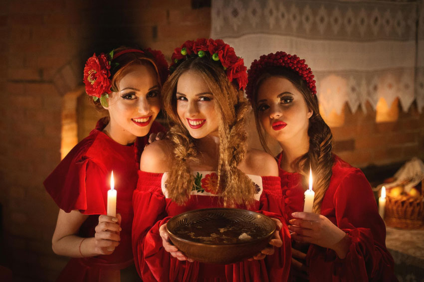 О волшебной женской магии в Рождество